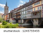 erfurt germany july  2018 the... | Shutterstock . vector #1245755455