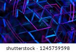 abstract 3d rendering of... | Shutterstock . vector #1245759598
