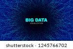 energy flow concept. big data... | Shutterstock .eps vector #1245766702