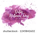 innovative abstract  banner or... | Shutterstock .eps vector #1245842632
