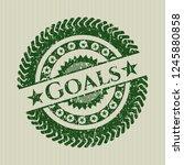 green goals rubber grunge... | Shutterstock .eps vector #1245880858