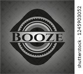 booze retro style black emblem   Shutterstock .eps vector #1245903052