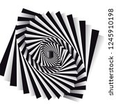 dynamic illusion in the style...   Shutterstock .eps vector #1245910198