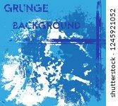 winter grunge background....   Shutterstock .eps vector #1245921052