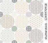 japanese pattern background... | Shutterstock .eps vector #1245970918