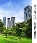 Downtown Of Kuala Lumpur In...