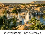 view on the river nile at... | Shutterstock . vector #1246039675
