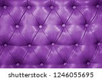 texture of genuine purple... | Shutterstock . vector #1246055695