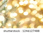 christmas or new year... | Shutterstock . vector #1246127488