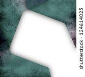 modern textured frame with... | Shutterstock . vector #124614025
