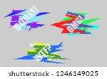 text vector illustration boom...   Shutterstock .eps vector #1246149025