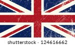 uk flag vintage | Shutterstock .eps vector #124616662