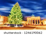 ornamented and illuminated... | Shutterstock . vector #1246190062