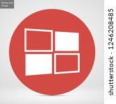 windows vector icon eps 10