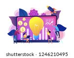 capital fund financing small...   Shutterstock .eps vector #1246210495