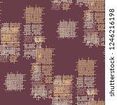 grunge seamless mesh. abstract... | Shutterstock .eps vector #1246216198