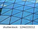 building structures aluminum... | Shutterstock . vector #1246223212