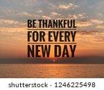 inspirational motivation quote...   Shutterstock . vector #1246225498
