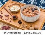chinese northern cuisine  laba... | Shutterstock . vector #1246255108