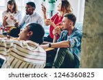 multicultural young people... | Shutterstock . vector #1246360825