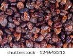 black raisins texture   Shutterstock . vector #124643212