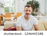 good looking middle age man in... | Shutterstock . vector #1246442188