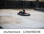 karting championship. driver in ... | Shutterstock . vector #1246448248
