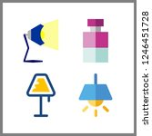 4 illumination icon. vector... | Shutterstock .eps vector #1246451728