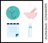 4 therapy icon. vector...   Shutterstock .eps vector #1246460395