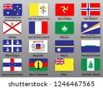 flags of all countries of the...   Shutterstock .eps vector #1246467565