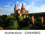 corvinesti castle  hunedoara ...   Shutterstock . vector #124646842