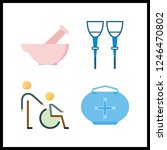 4 therapy icon. vector...   Shutterstock .eps vector #1246470802