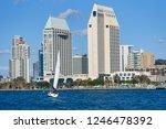 san diego california   u.s.a  ... | Shutterstock . vector #1246478392