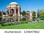 exploratorium and palace of... | Shutterstock . vector #124647862