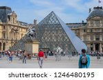 05.05.2008  paris  france. the... | Shutterstock . vector #1246480195