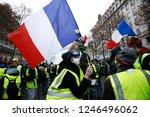 paris  france.  1st december... | Shutterstock . vector #1246496062