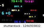 stock market tickers. blue...   Shutterstock . vector #1246503832