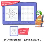 visual educational game for... | Shutterstock .eps vector #1246535752