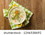 traditional cucumber soup with... | Shutterstock . vector #1246538692