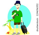 tourist | Shutterstock .eps vector #124656352