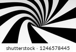 animated hypnotic tunnel with... | Shutterstock . vector #1246578445