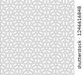 seamless pattern based on... | Shutterstock .eps vector #1246616848