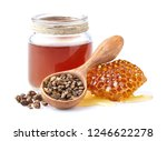 propolis tincture with... | Shutterstock . vector #1246622278