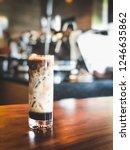 ice espresso macchiato   Shutterstock . vector #1246635862