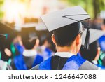 blurred image back side view... | Shutterstock . vector #1246647088