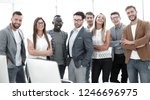 group of successful business... | Shutterstock . vector #1246696975