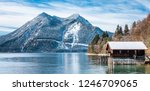 landscape at the walchensee... | Shutterstock . vector #1246709065