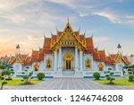 the marble temple   wat... | Shutterstock . vector #1246746208