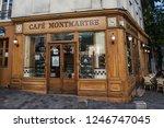 paris  france  october 6  2016  ...   Shutterstock . vector #1246747045