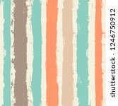 striped pattern  hand drawn... | Shutterstock .eps vector #1246750912